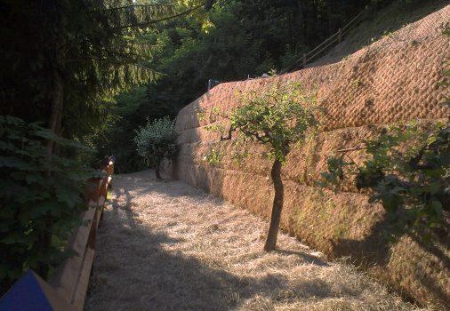 Horjul – ravnanje terena na strmem pobočju in izgradnja ceste
